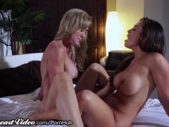 Sweetheart Brandi with Abigail\'s Intense Chemistry