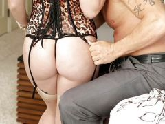 Lola Foxx riding on top