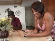 Sexy Ebony Girl Lavish StylesFucked by Step Brother
