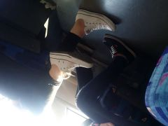 Candid converse and vans