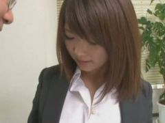 Delusion Office, Pussy Shaved Girl Seeking Employment Video 4
