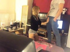 Petite blonde teen is in need of a hard prick plowing her t