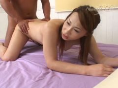 Stunning and winsome japanese tranny is having anal sex