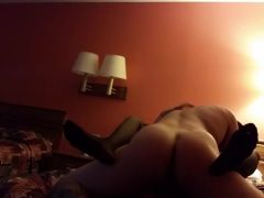 Horny slut fucked in the hotel room