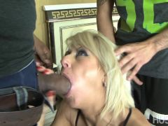 Cathy gets her ass stretched by cock