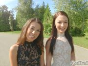 AssTraffic Beautiful French babes Angelik Duval and Tiffany
