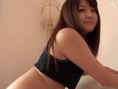 Hungry Japanese Teen Showing Her Natural Tits