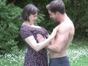 MATURE NL mom son outdoor sex