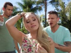 AJ Applegate MMF threesome