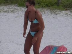 Sexy Hot Ass Bikini Girls beach Voyeur HD Video