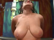 Brunette Latina with big boobs Charley Chase