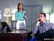 Karter Foxx fucks the boss to get the job