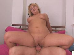 Young Chubby Teen with Puffy Perky Tits Fucked Hard