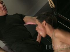 BlowJob BDSM hardcore throat sucking and fucking