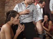 Barra Brass and her cock hungry friends get fucked together
