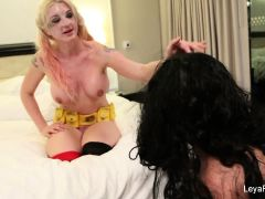 Leya palys with her slave