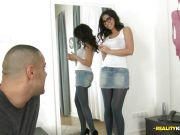 Double penetration for Julia De Lucia
