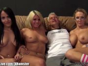 ImmoralLive 3 sexy girls on my dick!