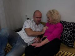Old Nanny Zena Shows Her Tits