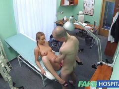 FakeHospital Hot nurse seduces and fucks her professor