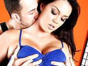 Alison Tyler Shows off Big Natural Juggs