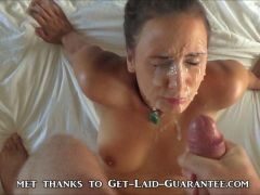 Blasting Her Face With A Cumshot