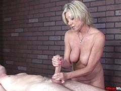 Post orgasm Torture from MILF