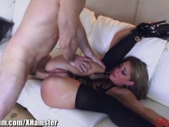 Savannah Fox SQUIRTs from ASS Fuck