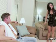 Young Step-Mom Seduce not Step-Son to fuck