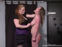 Lesbian Taylor Hearts extreme humiliation and punishment bds