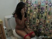 Latina cheating with black cock