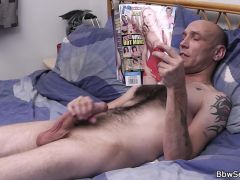 Hot blonde plumper riding married man\'s cock