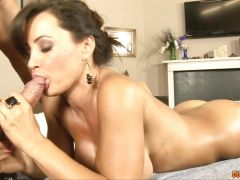 Lisa Ann Hot and sex massage