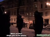 Cocksucking redhead teen in sexysanta costume fucked for xxxmas