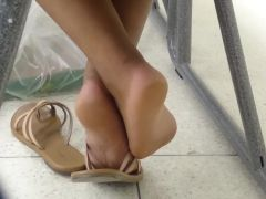 HS Friend\'s Candid Beautiful Soles