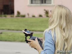 Sexy Teen Blow Job First Time Alone With A Drone