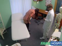 FakeHospital Doctors meat injection eases curvy patients bac