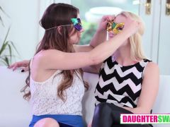 Sierra Nicole And Taylor Sands In Mardi Gras Madness Pt 2