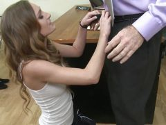 Provocative Maci Winslett gets fucked across the school desk