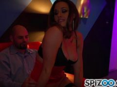 Chanel Preston takes his hard cock in her tight stripper pussy