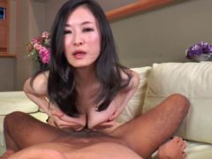 Mature Asian Rei Sugiura Titty Fuck