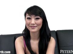 Sexy Evelyn Lin POV Blowjob and Cum Swallow