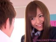 Stunning School Girl Gets Pumped Hard In Different Actions