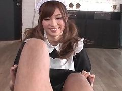 Charming Japanese Teen Offering Her Lovely Juicy Asshole