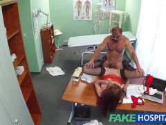 Luscious patient fucked by horny doctor