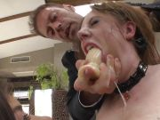 Rocco Siffredi cock ramming Samantha Bentley and Henessy