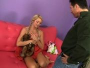 Jessie Andrews In Pigtails Is Ready For John Strong