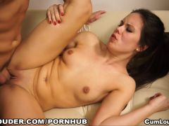 Spanish Brunette gets fucked by a Big Dick