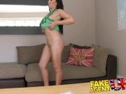 FakeAgentUK Sexy filthy mouthed pornstar