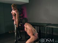 Dominated sub fucks mistress